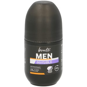 Bonte desodarante invisible hombre roll on de 50ml.