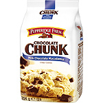 Pepperidge Farm chocolate chunk galletas con pepitas chocolate nueces macadamia de 206g. en paquete