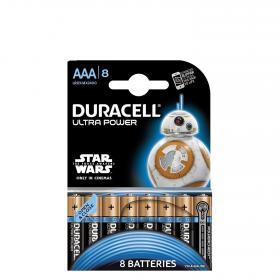 Duracell pilas lr03 aaa ultra 8 ud