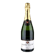 Carrefour champagne brut exclusivo charles vicent de 75cl.