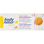 Body Natur sensitive crema depilatoria facial ingles axilas camomila suavizante tubo pieles sensibles de 50ml.