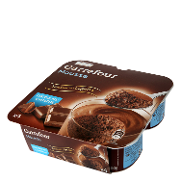 Carrefour mousse chocolate de 60g. por 4 unidades