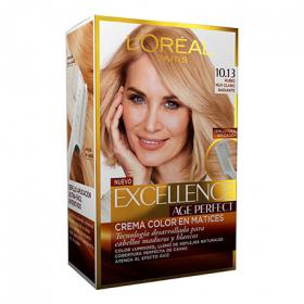 Excellence tinte age perfect nº 10 13 rubio muy claro radiante loreal