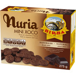 Birba nuria mini xoco galletas chocolate estuche de 275g.