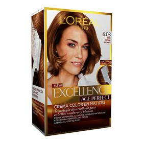 Excellence tinte age perfect nº 6 03 rubio oscuro radiante loreal