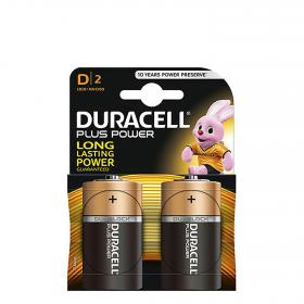 Duracell pack pilas alcalinas uso frecuente lr20 d plus 2 ud