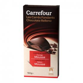 Carrefour mousse chocolate de 160g.