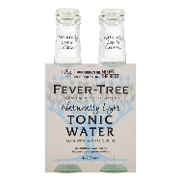 Fever Tree tonica light indian de 20cl. por 4 unidades en botella
