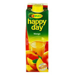Happy day néctar de mango de 1l.