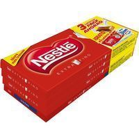 La Lechera chocolate extrafino nestle tableta de 125g. por 3 unidades