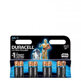 Duracell pilas lr06 aa ultra 8 ud