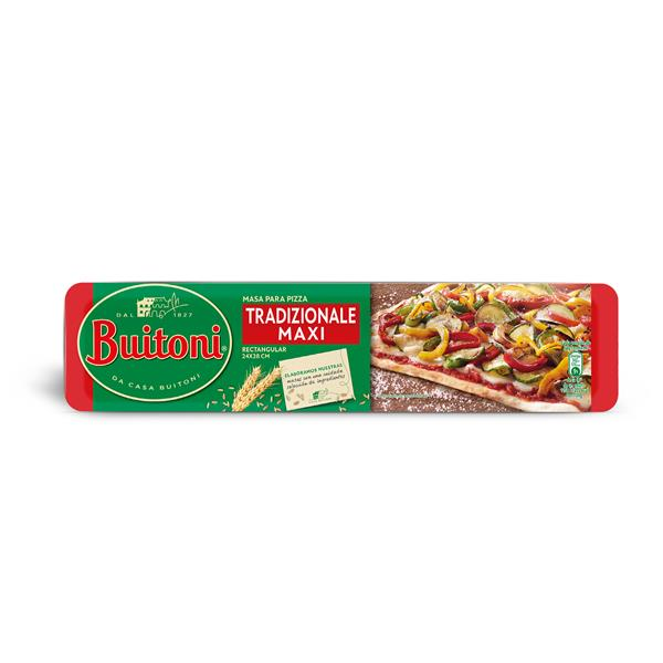 Buitoni pasta pizza familiar envase de 385g.