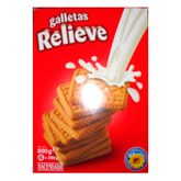Hacendado galleta relieve de 860g. en paquete