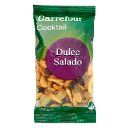Carrefour cocktail frutos secos de 125g.