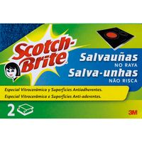 Scotch Brite salvauñas no raya por 2 unidades