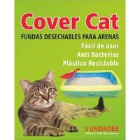 Funda desechable gatera cover cat, pack 1 unidades