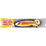 Filipinos roscos galleta con chocolate blanco de 185g. en paquete
