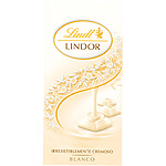 Lindor lindt chocolate blanco tableta de 100g.
