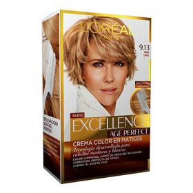 Excellence tinte age perfect nº 9 13 rubio camel loreal