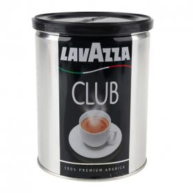 Lavazza club cafe natural molido 100% premium arabica de 250g. en lata