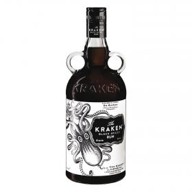 Ron black spiced kraken de 70cl.