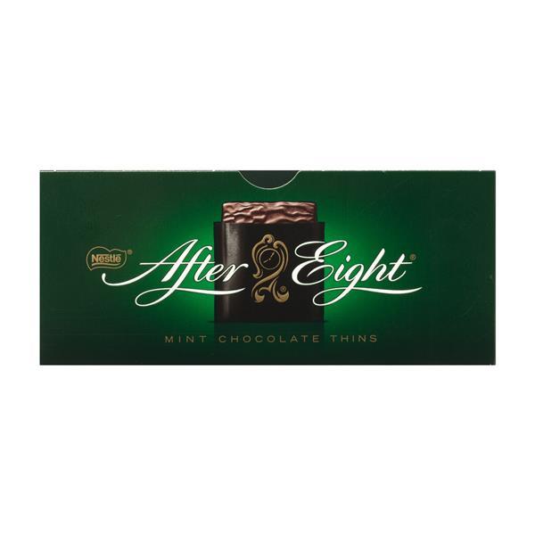 After Eight laminas menta estuche de 200g.