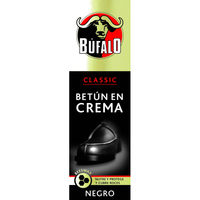 Búfalo crema color negro tubo de 75ml.