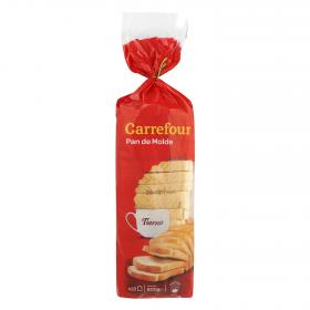 Carrefour pan blanco de 600g.