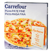 Carrefour pizza barbacoa de 350g.