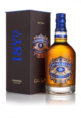 Chivas Regal whisky escoces 18 años de 70cl. en botella