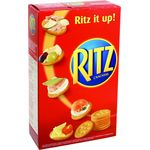 Ritz galletas saladas de 200g.