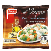 Findus pizza 4 estaciones al vapor de 400g.