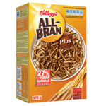 Kelloggs all bran plus de 375g.