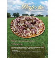 Pizza perfecto escalivada de 400g.