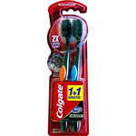Colgate cepillo dental 360º black medio blister por 2 unidades