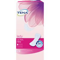 Tena lady compresa incontinencia ultra mini 28 en paquete