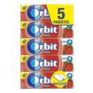 Orbit chicle grageas fresa acida p5 en paquete