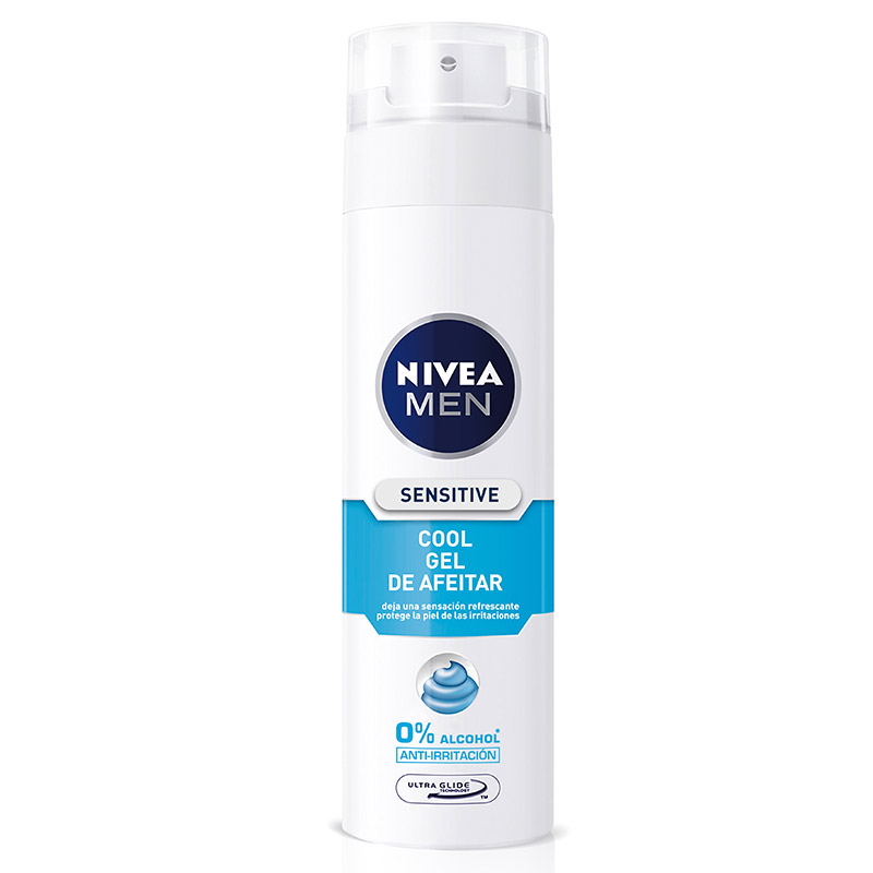 Nivea For Men hombre gel afeitar sensitive cool sin alcohol de 20cl. en spray