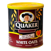 Avena white oats quacker de 500g.