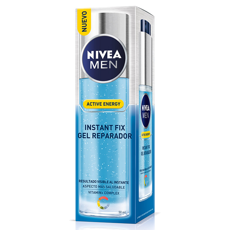 Nivea For Men gel instant fix active hombre tubo de 50ml.