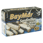 Bay Mar sardinilla gallega 8/12 de 115g.