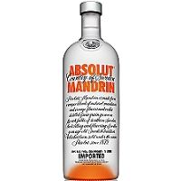Absolut vodka mandarina de 70cl. en botella