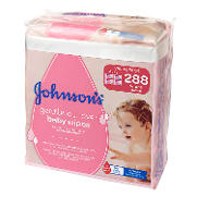 Johnson's toallitas bebe 72