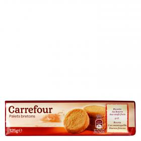 Carrefour galletas bretonas de 125g.