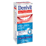 Denivit dentifrico pro laser white experto antimanchas de 50ml.