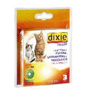 Dixie collar repelente insectos cachorros gatos