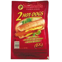 Palacios hot dog de 400g.