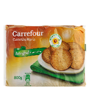 Carrefour galleta maria integral de 800g.
