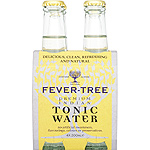 Fever Tree agua tonica de 20cl. por 4 unidades en botella