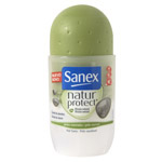 Sanex natur protect desodorante roll on piel normal envase de 45ml.